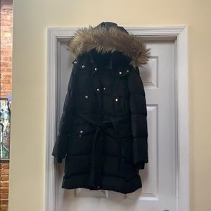 J. Crew Jackets & Coats - Black long puffer coat